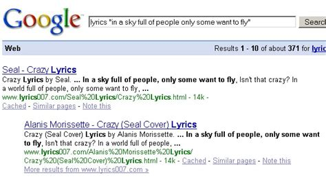 Lyrics Lookup Use A Lyrics Search Engine To Find Songs You Like Solace Learning