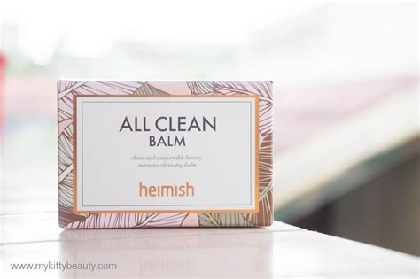 Heimish All Clean Balm 5gr review heimish all clean balm for acne prone skin