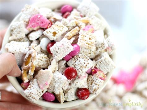 valentines puppy chow s day puppy chow suburban simplicity