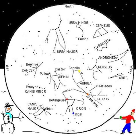 printable star map by date free star charts constellation maps seasonal sky chart for