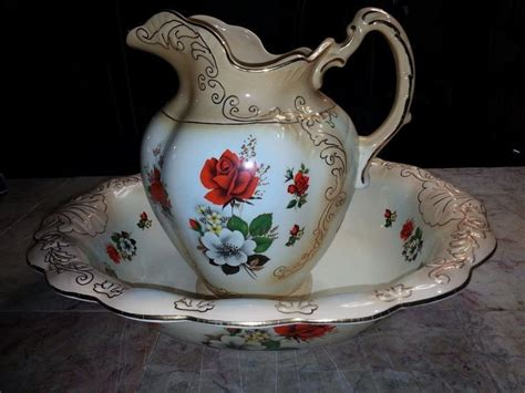 Antique Style Blue White Ornate Porcelain Garden Water Can Collectible 14cm 5 5 Quot Ebay 213 Best Images About Bowl And Pitcher On Pottery Painted And Search