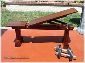 how to make a homemade weight bench 2 homemade diy weightlifting benches flat and incline