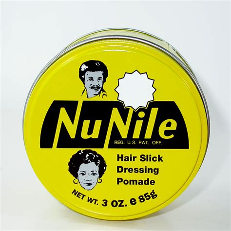 Nu Nile Yellow Nu Nile Murrays Pomade Hair Slick Dressing 85 Gram 1 nu nile hair pomade yellow 85gm