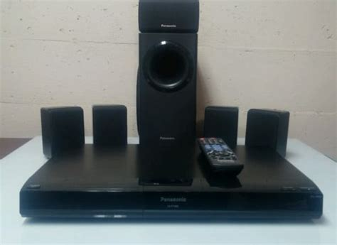panasonic sa pt480 dvd home theater system 5 1 surround