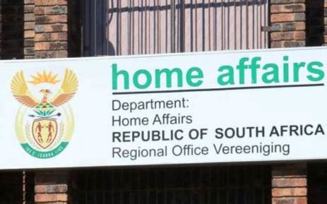 home affairs hopeful of solution to special