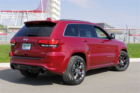 gold jeep grand cherokee 2014 2014 jeep grand cherokee srt autoblog