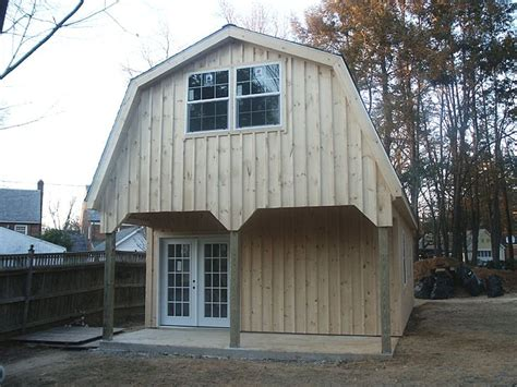 gambrel garage garage with gambrel style roof farming pinterest