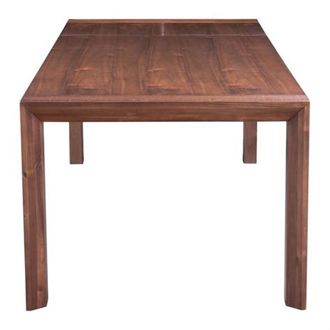perth extension dining table chestnut modern in designs