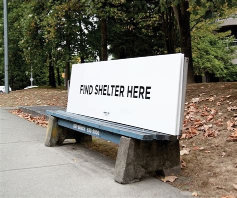 park bench advertising park benches get turned into shelters for the homeless