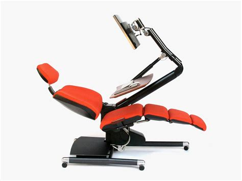 Laptop Desk Chair Forget Standing Desks Are You Ready To Lie And Work
