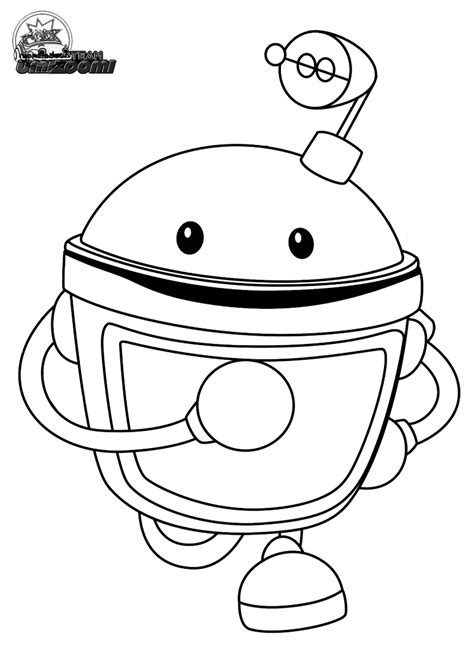 Free Team Umizoomi Coloring Pages Printable Marty Line Art Team Umizoomi Coloring Pages