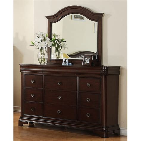 Dresser With Mirror by Picket House Caspian 12 Drawer Dresser And Mirror 14254948 Overstock Shopping Great