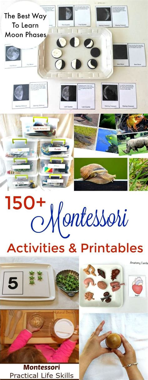montessori printables uk 25 best ideas about space crafts preschool on pinterest