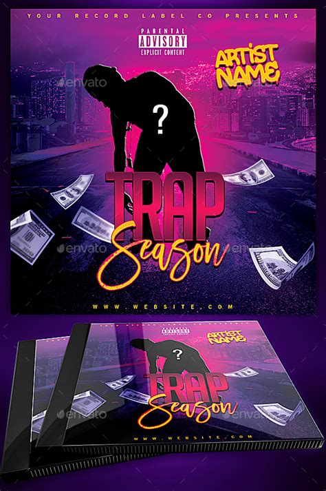 mixtape design templates trap season mixtape covers mixtape cover designs by