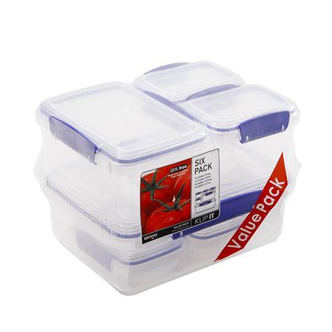 klip  airtight tubs  pack home store