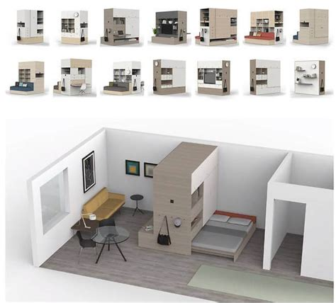 robotic wall system ori shapeshifting programmable robotic furniture maximizes