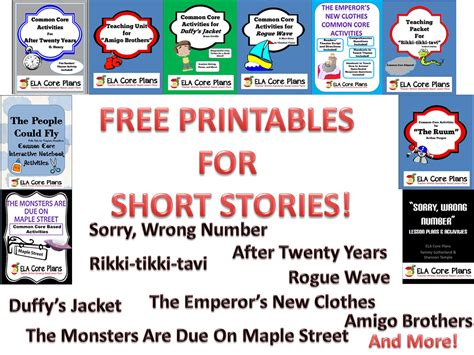 printable short stories for middle school middle school short stories lesson plans teacher written