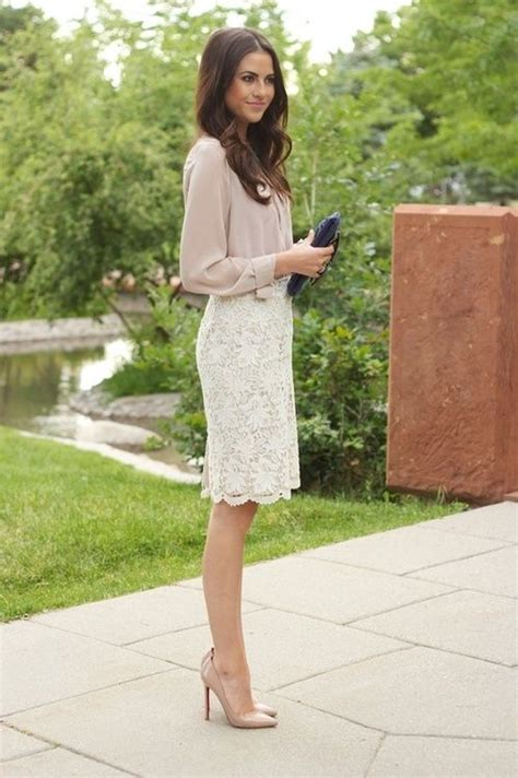 perfect interview outfits  women pencil skirts