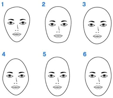 updoes for different shaped faces what is your face shape round square long heart or