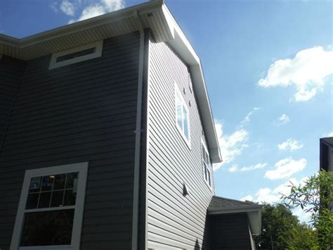 Charcoal Gray Siding Images - 75 best images about gray vinyl siding on
