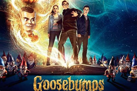 film goosebump pillow talking s review of the movie goosebumps pillow