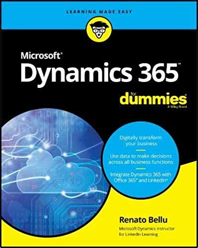 microsoft dynamics 365 for dummies pdf free it ebooks
