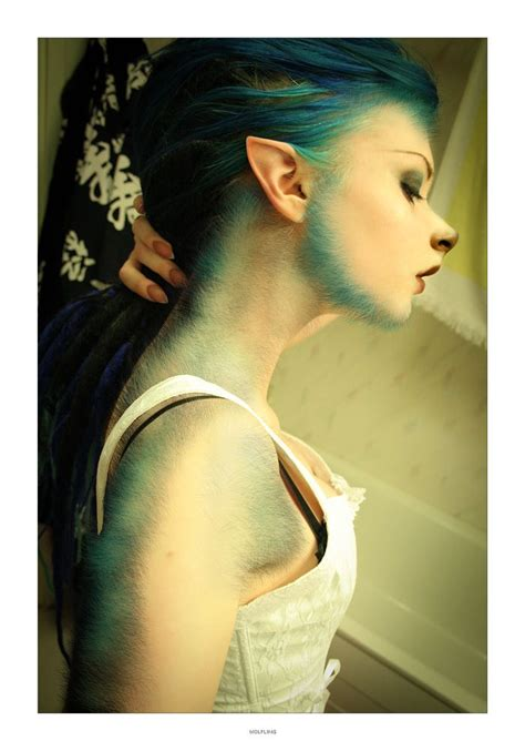 female sideburns pretty blue she wolf sideburns are mildly hot mildly disturbing