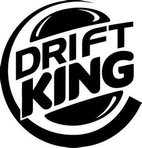 mitsubishi jdm logo amazon com drift king premium decal 5 quot white burger king