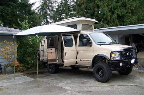 Awnings For Vans by Portable Awning Sportsmobile Forum