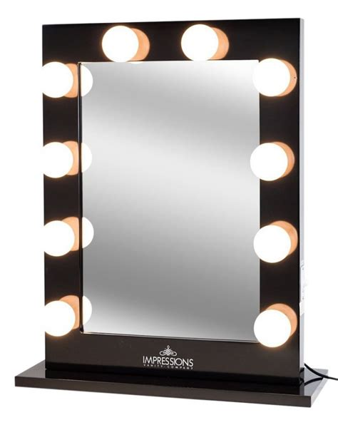 Vanity Mirror Light by Mirror With Studio Lights Reversadermcream