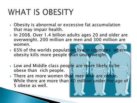 obesity power point template 1