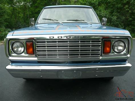 1978 dodge ramcharger for sale 1978 dodge ramcharger jean machine one owner matching