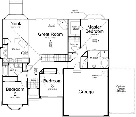 Ivory Home Floor Plans | catania ivory homes floor plan main level ivory homes