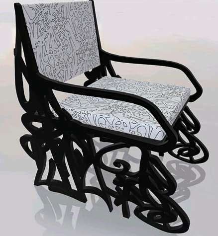 Graffiti Furniture by Graffiti Furniture Luis Alicandu Creates To