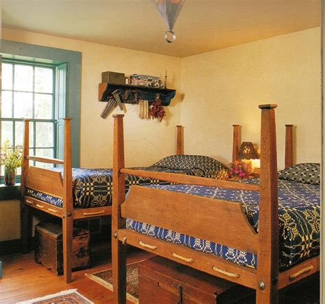 Primitive Bedroom Furniture 226 Best Images About Rope Trundle Bed On Shaker Style Pine Flooring And Early