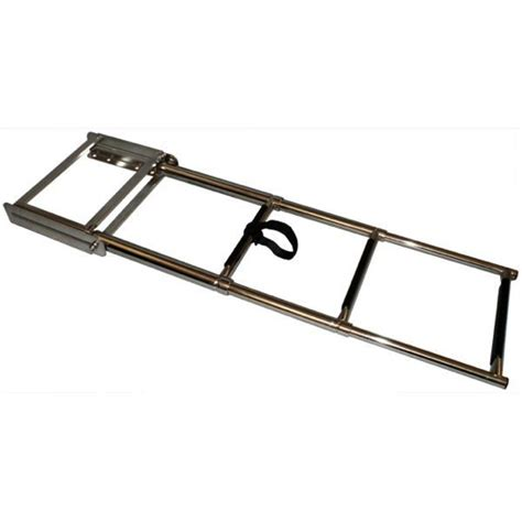 boat dock ladder parts 3 step stainless steel telescopic boat dock ladder marine