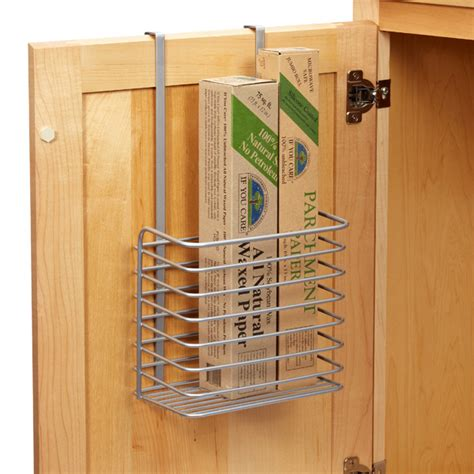 over the cabinet basket polytherm over the cabinet tall basket the container store