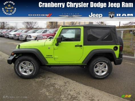 2013 gecko green jeep wrangler sport 4x4 73989152 gtcarlot car color galleries