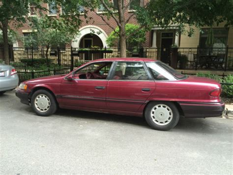 automotive air conditioning repair 1992 mercury sable transmission control 92 mercury sable 70k orig miles for sale in chicago illinois united states
