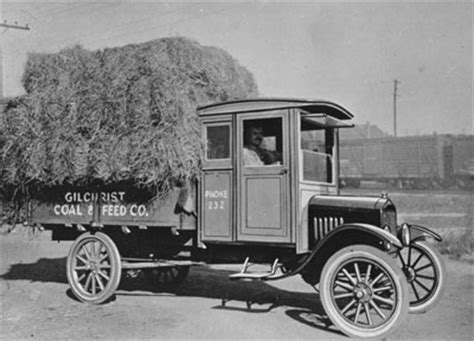 first truck ever made ford motor company timeline ford com