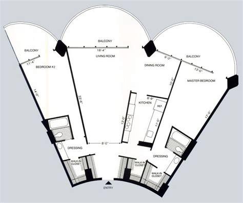 2 Bedroom Apartment Floor Plan Marina City Rentals Chicago Il Apartments Com