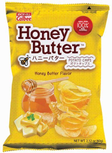 Honey Butter Chips n calbee brings in best selling honey butter