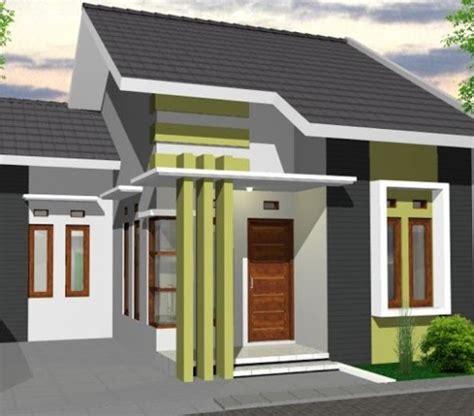 model tiang teras rumah minimalis rancangan desain rumah