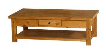 Pine coffee table second sun co