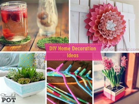 diy home decoration ideas   budget  easy