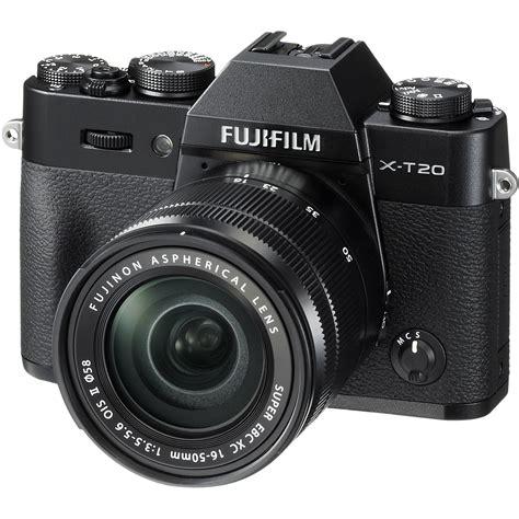 Kamera Mirrorless Fuji fujifilm x t20 mirrorless digital with 16 50mm 16543016