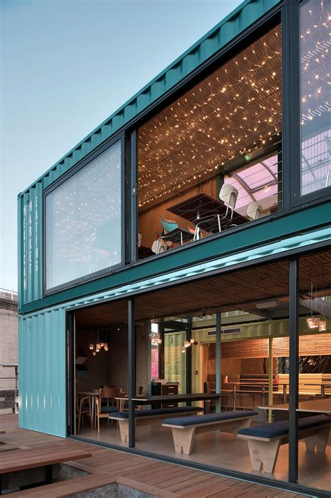 container home design uk the new wahaca pop up project a shipping container