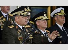 Russia, Venezuelan military top brass back Maduro France News 24 Live