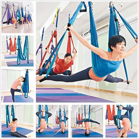 how to hang a yoga swing inversion therapy anti gravity aerial yoga swing hanging