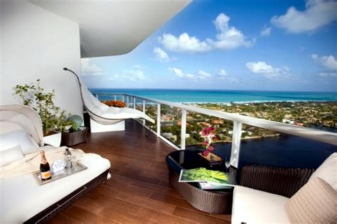 Balcony furniture ? 52 facilities and decorating ideas for